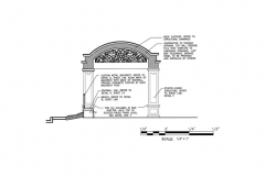 Bus Shelter Side Section_001