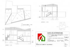 LR_PLA_005_PLANTA DE CUBIERTA Y SECCIONES 1_001