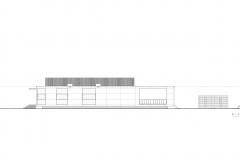 S-AR Casa 2G - Elevacion Poniente