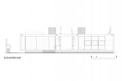 S-AR Casa 2G - Elevacion Sur