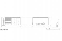 S-AR Casa 2G - Seccion B-B