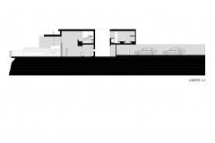 corte longitudinal Casa Loma I-5