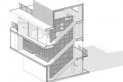 Azonometria Casa Maruma