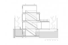 Corte transversal 2 Casa Maruma