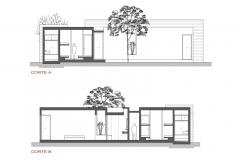 Casa oZs0 Cortes A y B