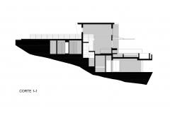 CORTE 1-1 Casa Palillos E-3