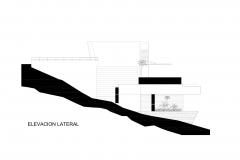 ELEVACION LATERAL Casa Palillos E-3