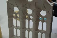 estructura alabeada interior