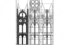 estructura neogotica exterior