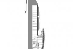 CORTE AA Refugio verde-Dos viviendas