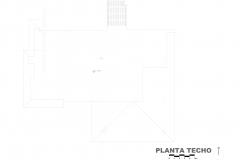 PLANTA TECHO VIVIENDA UNIFAMILIAR EN VALENCIA