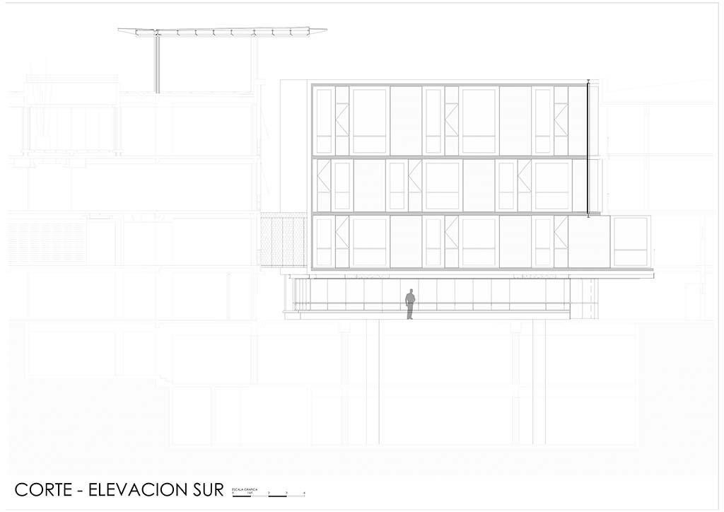 Corte Elevacion Sur_001