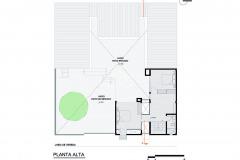 PLANTA ALTA ARQUITECTURA MESTIZA RESIDENCIA DYQ