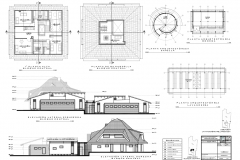 05 propuesta casa central plantas altas_ bodega oasis lavanderia_ 2elevaciones centro CASA DE ACOGIDA NINAHUASI
