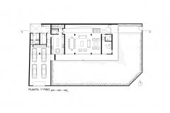 CASA EN LA ENCANTADA- JAVIER ARTADI- planta 1 pisoModel_001