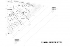 PLANTA PRIMER NIVEL CASA LV1 (CASA NANCHI 1 Y 2)