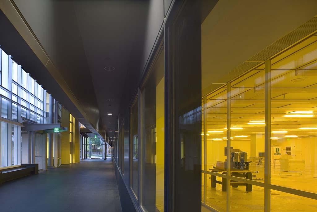 Lab/office interior