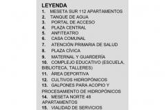 IMPLANTACION DE CONJUNTO EL 70 20-09-2010- Leyenda