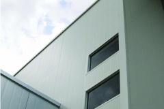 detalle de material en fachada