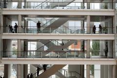 escaleras entrelazadas