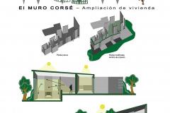 CORTES EL MURO COSÉ AMPLIACIÓN Y REESTRUCTURACIÓN