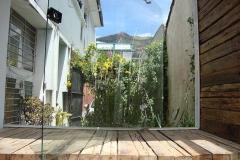 vista montaña jardín