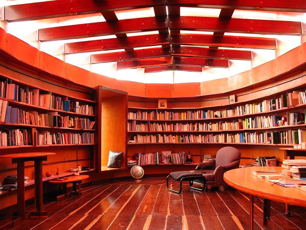 27- Interior Biblioteca desde el sur