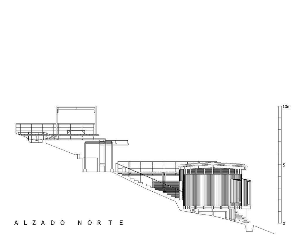 Alzado Norte