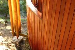 14- Detalle columna y patio cilindrico