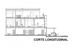 CORTE LONGITUDINAL ESTUDIOS DE GRABACION ARTCO