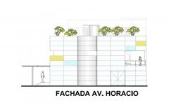 FACHADA AV HORACIO ESTUDIOS DE GRABACION ARTCO