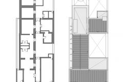 planta original - planta techos - 1-200 GALERIA DE ARTE CERRITO