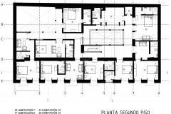 PLANTA 2 HOTEL CASA DE LA VEGA