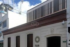 VISTA EXTERIOR 3 HOTEL ILLA PROYECTO DE REHABILITACIÓN EN EL CENTRO HISTÓRICO DE QUITO
