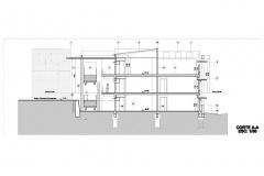 CORTE a edificio centenario-Model_001
