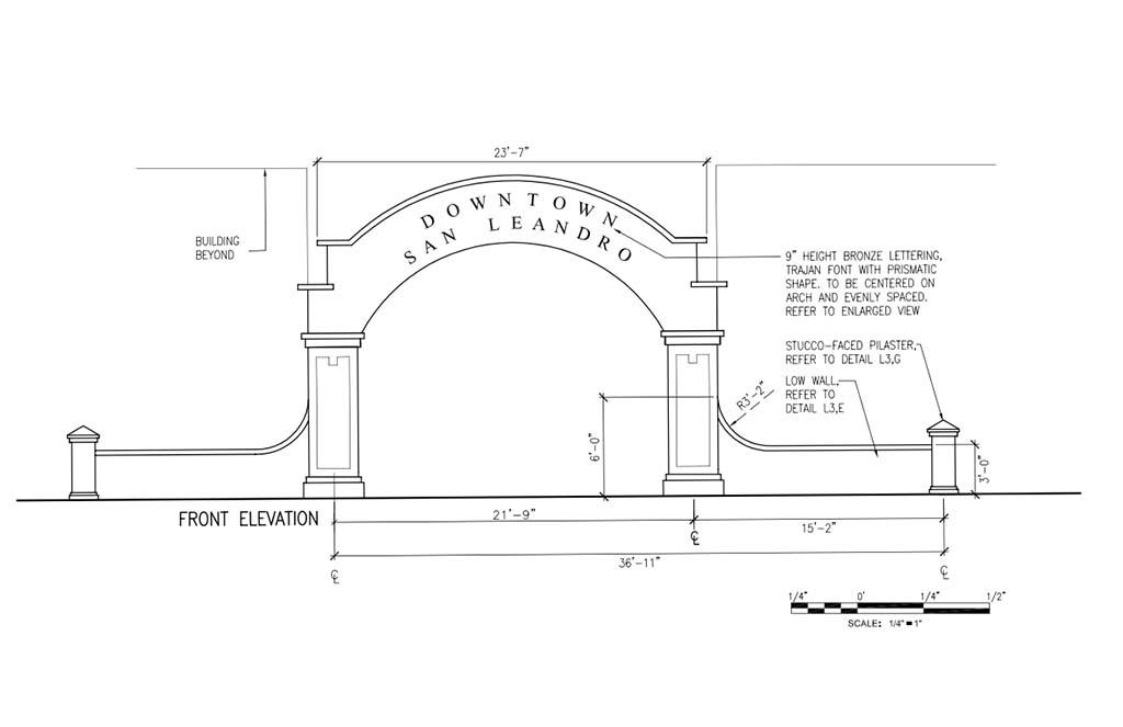 Gateway Front Elevation_001