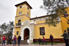 VISTA EXTERIOR 1 PUESTA EN VALOR DE LOS EQUIPAMIENTOS CULTURALES DEL BOSQUE EL OLIVAR DE SAN ISIDRO