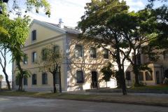 VISTA EXTERIOR 3 RECUPERACION PATRIMONIO INDUSTRIAL PLANTA CAPURRO ANCAP EDIFICIO ADMINISTRATIVO ALCOHOLES DEL URUGUAY