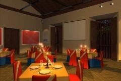 Imagen del  Dise_o de Interiores del Salon Polivalente