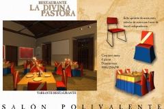 SALON POLIVALENTE RESTAURANTE LA DIVINA PASTORA