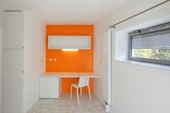RESIDENCIA DE ESTUDIANTES EN PORTE DE VANVES. Habitacion 2.Vista interior.003
