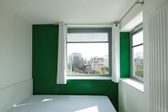 RESIDENCIA DE ESTUDIANTES EN PORTE DE VANVES. Habitacion- Vista interior . 002