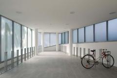 RESIDENCIA DE ESTUDIANTES EN PORTE DE VANVES.Bicicletas - Sala comun 001
