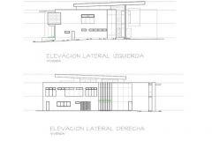 ELEVACION FRONTAL RESIDENCIAS CORONADO MC