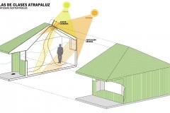 Sustentable1 SALAS DE CLASES ATRAPA LUZ