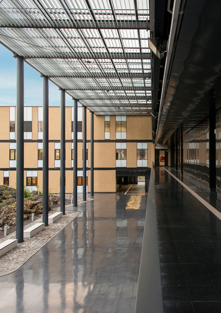 Edificio para la Licenciatura en Ciencia Forense. UNAM.FOTO SELECCIONADA. 006