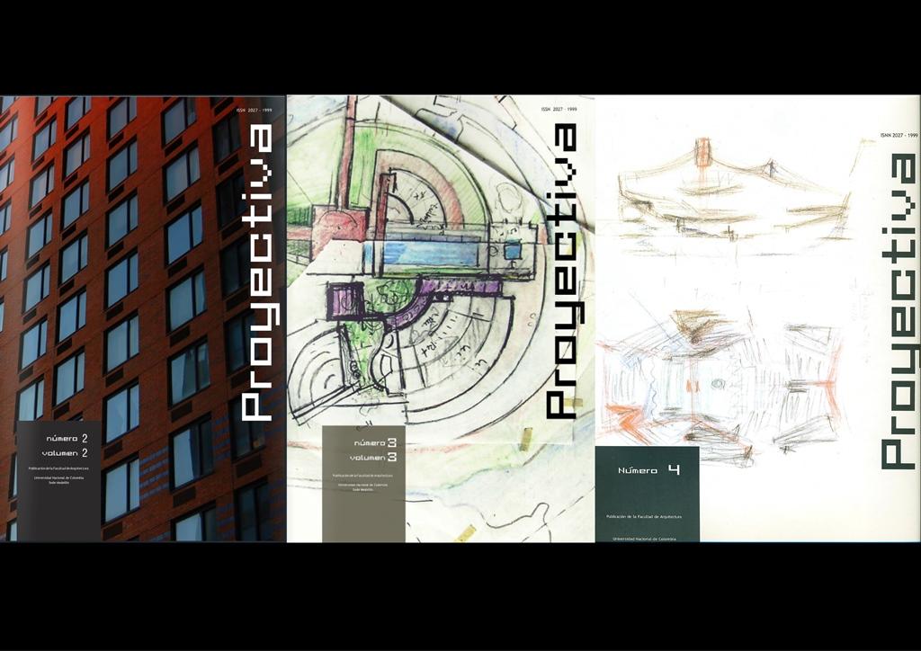PT.Portada.PROYECTIVA. Revista de Arquitectura y Proyecto Urbano. 001