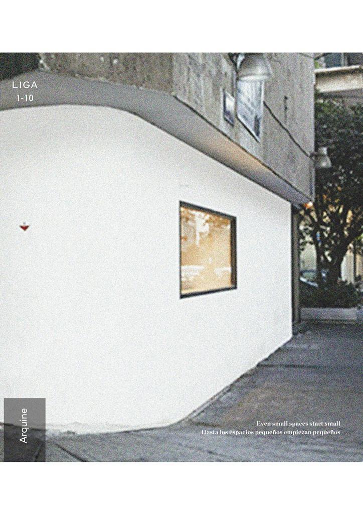 PTPortada.LIGA, Espacio para Arquitectura. 001