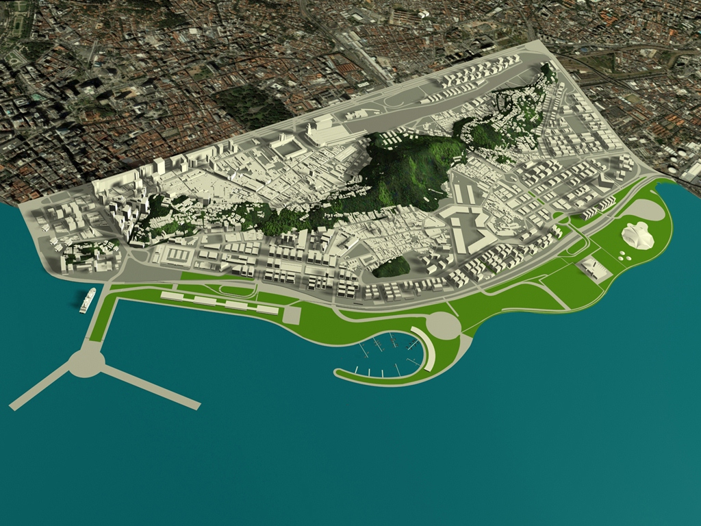 Projeto Porto Rio Mar e Vila