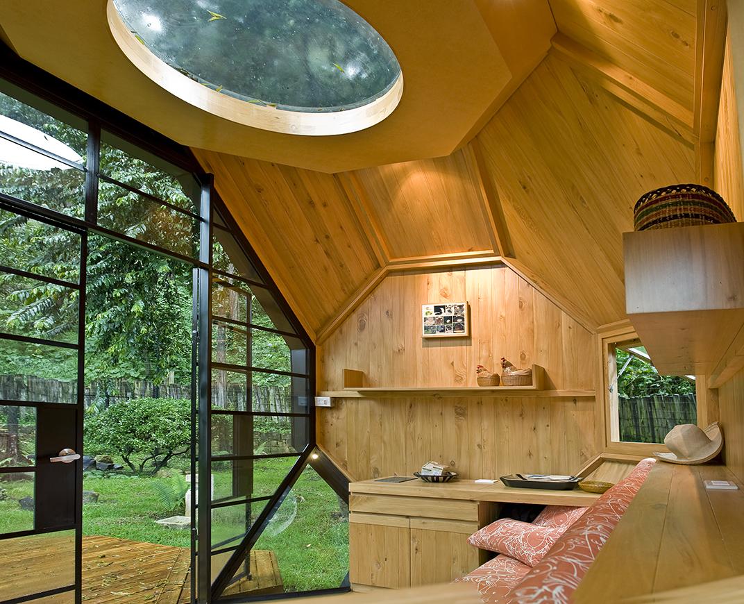 Poliedro Habitable Vista Interior
